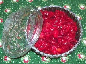 Cranberry Relish with Orange and Pineapple
