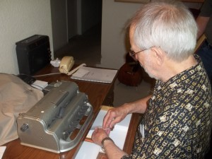 The Braille writer
