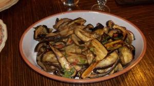 charbroiled eggplant salad
