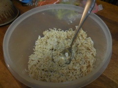 cold rice
